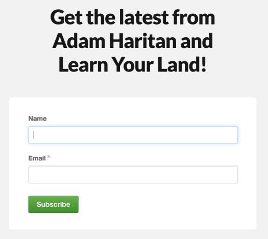 LearnYourLandnewsletter